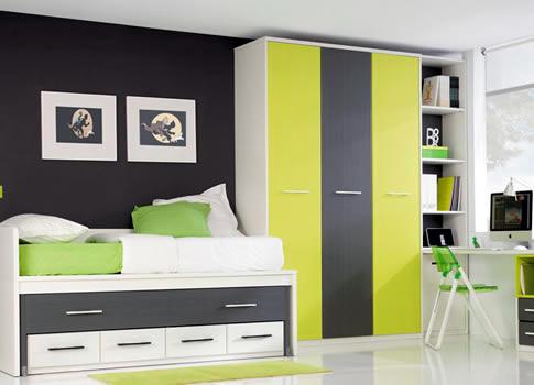 Muebles de dormitorio en melamina en lima closets de for Muebles de dormitorio lima